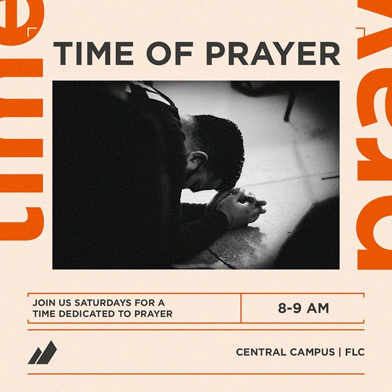 SATURDAY PRAYER TIME